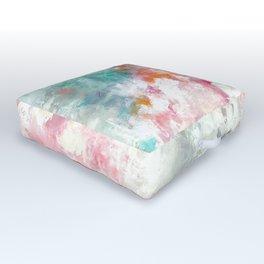 Calm Volcano abstract Outdoor Floor Cushion