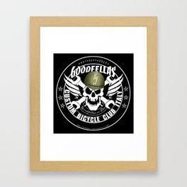 Goodfellas Custom Bicycle Brigade - SUPPORTERS ARMY Framed Art Print