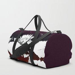 Stylized Water lily Duffle Bag