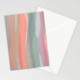 Peachy Watercolor Stationery Cards