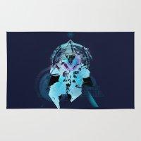 illuminati Area & Throw Rugs featuring Illuminati Astronaut by Largetosti