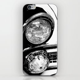 Vintage Car Taillights iPhone Skin