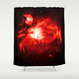 Orion NeBULA : Red Shower Curtain