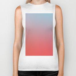 ALL GOOD THINGS - Minimal Plain Soft Mood Color Blend Prints Biker Tank