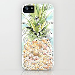 The Colorful Pineapple iPhone Case