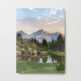 The Eastern Sierras Metal Print