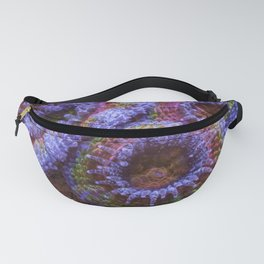 Coral Acanthastrea Lordhowensis Rainbow Fanny Pack