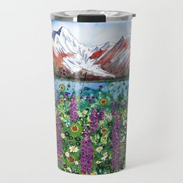 Carpathian in Lupine Travel Mug