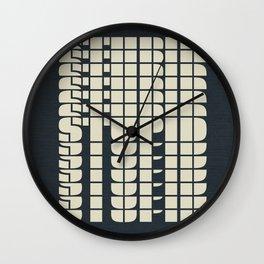 STUPID Wall Clock