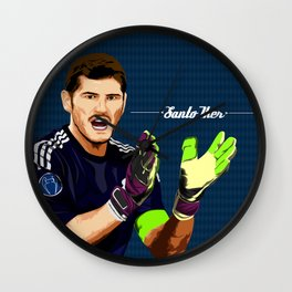 Iker Casillas Wall Clock