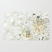 starfish Area & Throw Rugs featuring Starfish by Monika Strigel