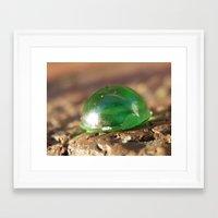 gem Framed Art Prints featuring gem by Dottie