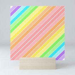 Rainbow Sherbert 1 Mini Art Print