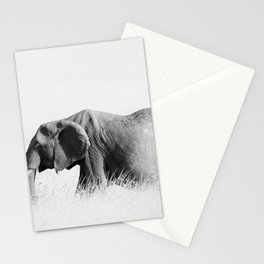 Elephant High Key Stationery Cards