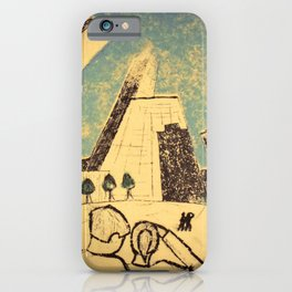 Chicago Skyline (The Bean) iPhone Case