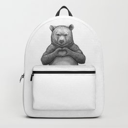 Bear with love Backpack