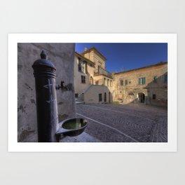 Largo Cremonesi Art Print