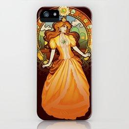 Daisy Nouveau iPhone Case