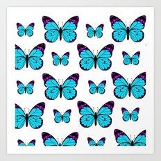 Sea of Butterflies Art Print