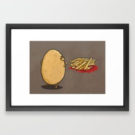 There will be...fries! Framed Art Print