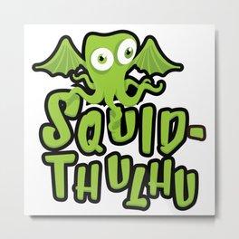 Squid-thulhu Metal Print
