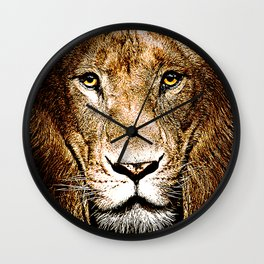 Fiercely Captivating  Wall Clock