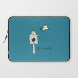 Live simply Laptop Sleeve