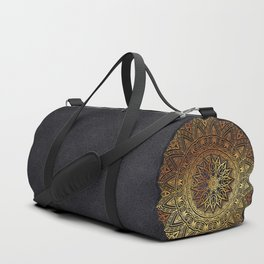 -A27- Original Heritage Moroccan Islamic Geometric Artwork. Duffle Bag