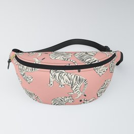 Pink Tiger Pattern 006 Fanny Pack