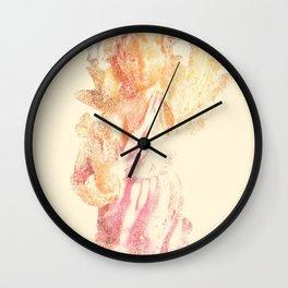 Broken Angel Wall Clock
