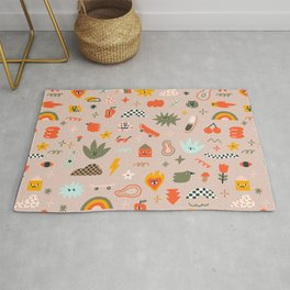 Cute and trippy Rug