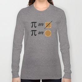 Pi Math Joke Long Sleeve T-shirt