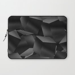 Black Fade Cubes Laptop Sleeve