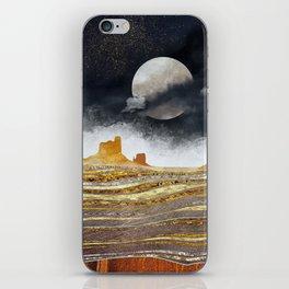 Metallic Desert iPhone Skin