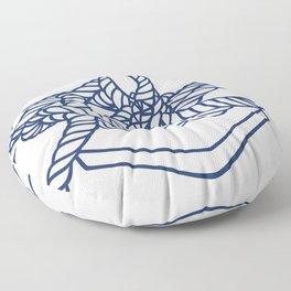 Knotical (WHITE) Floor Pillow