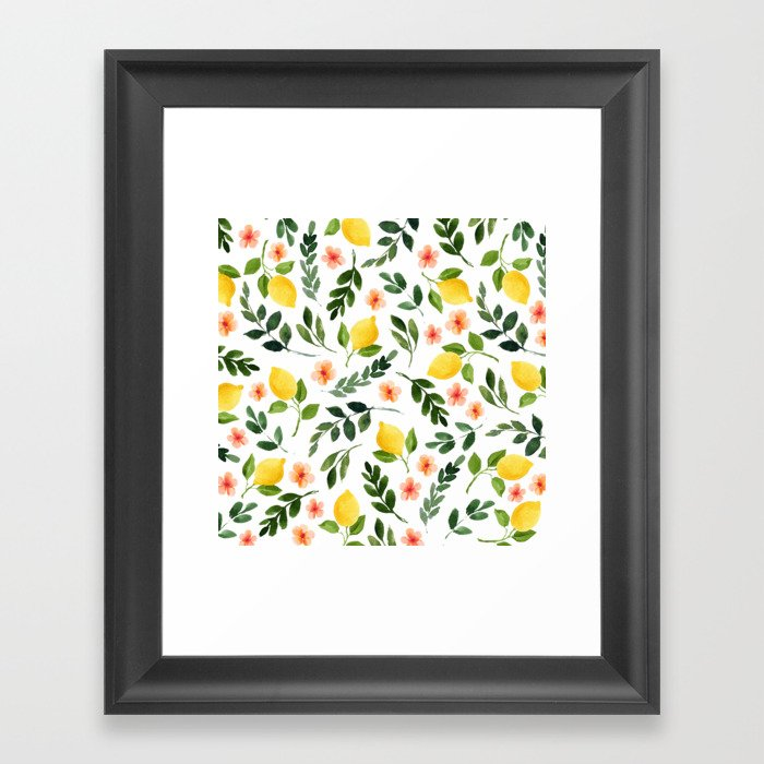 Lemon Grove Gerahmter Kunstdruck