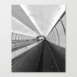 Next Stop...Unknown Canvas Print