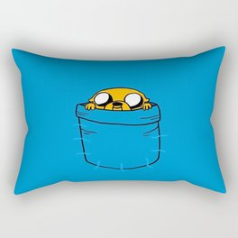Jake In Poket Rectangular Pillow