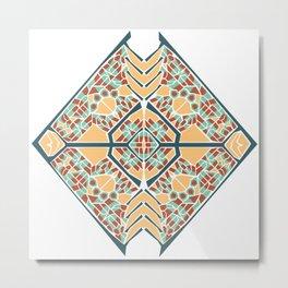 Vector Mandala Metal Print