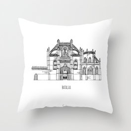 Batalha Throw Pillow