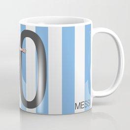 Lionel Messi Argentina 10 Print Coffee Mug