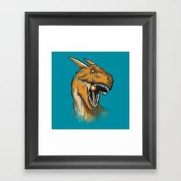 Charisaurus Rex Framed Art Print