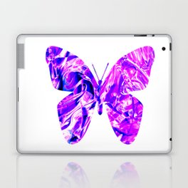 Fluid Butterfly (Violet Version) Laptop & iPad Skin
