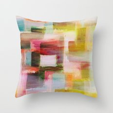 Untitled - Textured Abstract  Throw Pillow