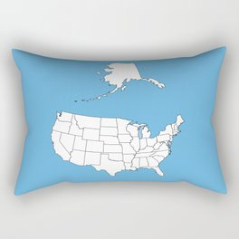 United States of America Rectangular Pillow
