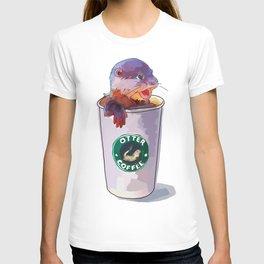 Otter Coffee T-shirt