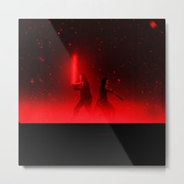 star war Metal Print