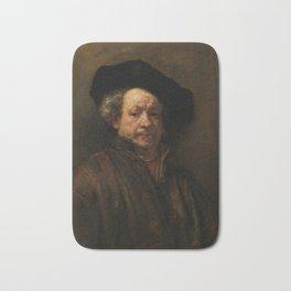 Rembrandt van Rijn - Self-portrait Bath Mat