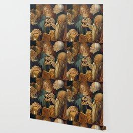 Christ among the Doctors by Albrecht Durer Wallpaper