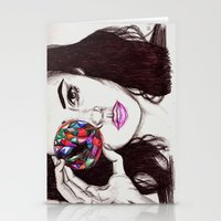 marina Stationery Cards featuring Marina  by annelise johnson